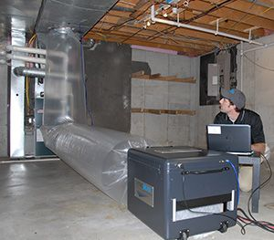 DuctWorks Heating & Air Conditioning | Duct Sealing