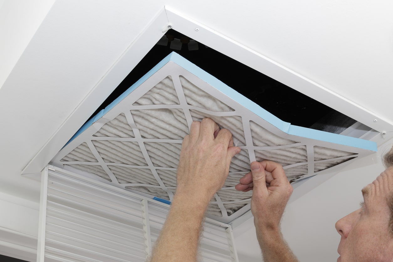 DuctWorks Heating & Air Conditioning | Filter Replacement
