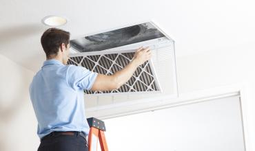DuctWorks Heating & Air Conditioning | Filter Cleaning